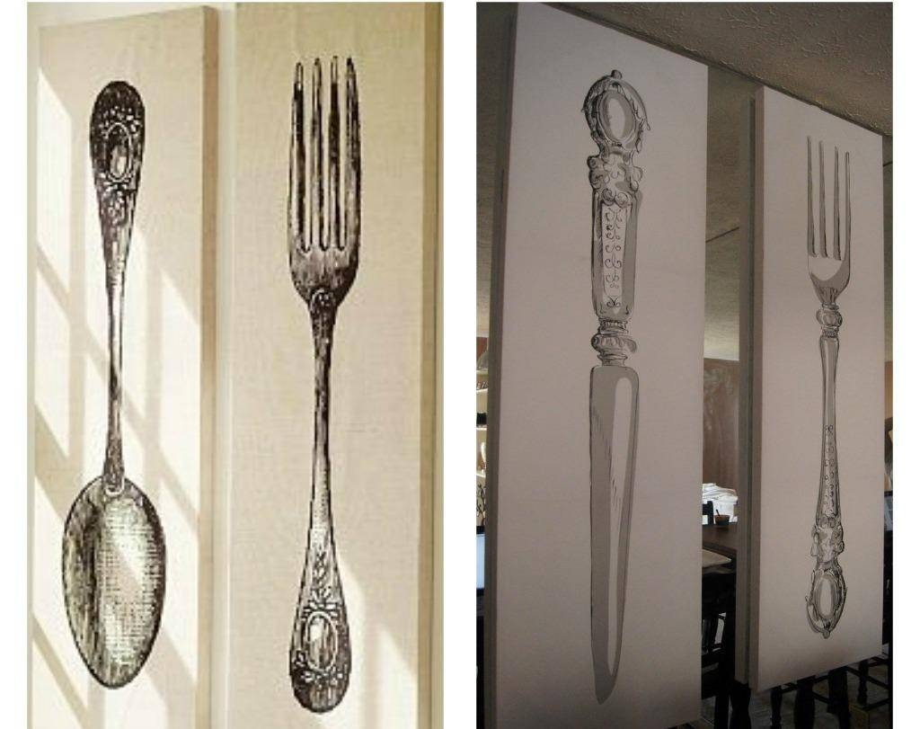 Wall Decor: Best Of Big Spoon And Fork Wall Decor Kitchen Wall Intended For Newest Big Spoon And Fork Decors (View 23 of 25)