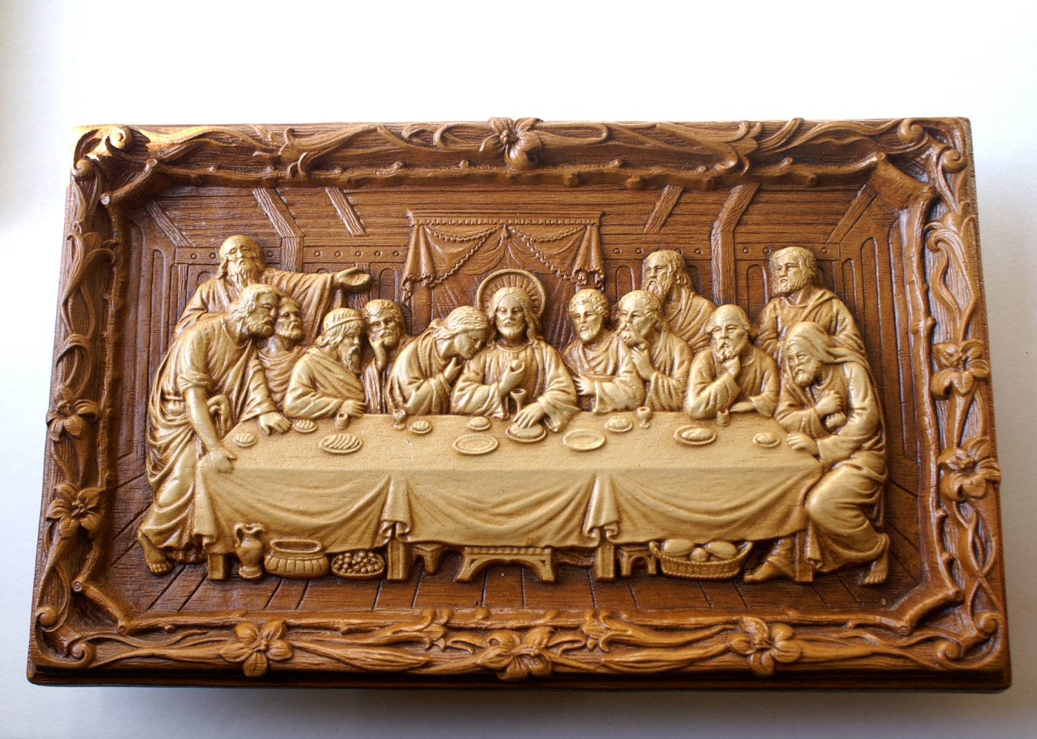 Wall Decor: Best Of Last Supper Wall Decor Last Supper 3D Wall Inside Most Current Last Supper Wall Art (View 19 of 20)