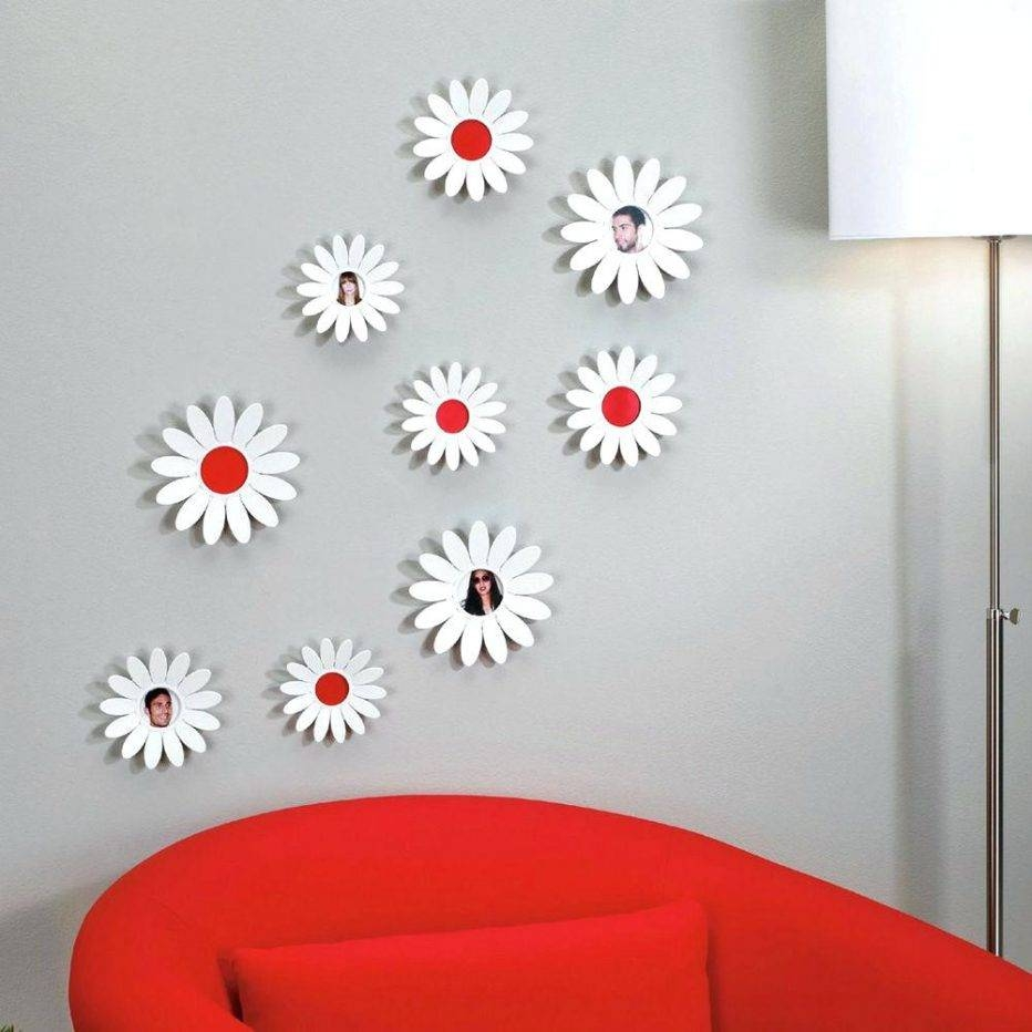 Wall Decor : Black And White Flower Wall Decor 115 Amusing With Most Recent Umbra 3d Wall Art (View 18 of 20)