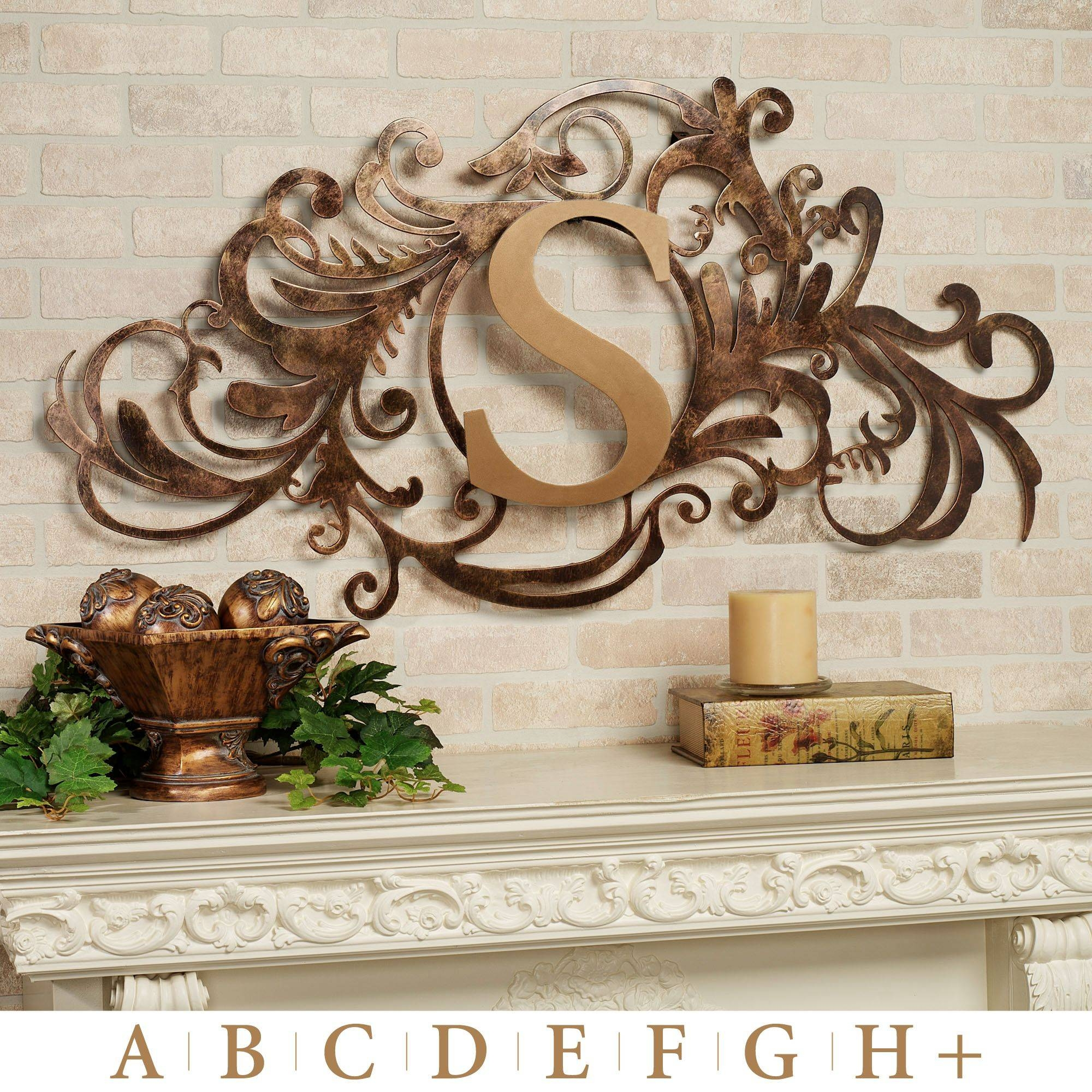 Wall Decor: Black Wrought Iron Wall Decor Ideas For Home Regarding Newest Wrought Iron Garden Wall Art (View 18 of 25)