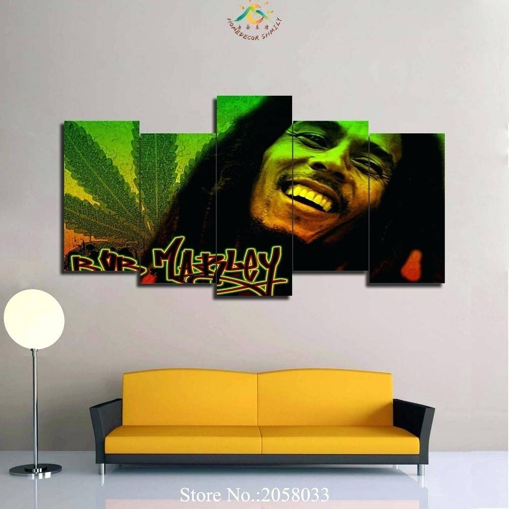 Wall Decor : Bright Wall Sticker Vinyl Art Decor Bob Marley One In Current Bob Marley Wall Art (View 27 of 30)