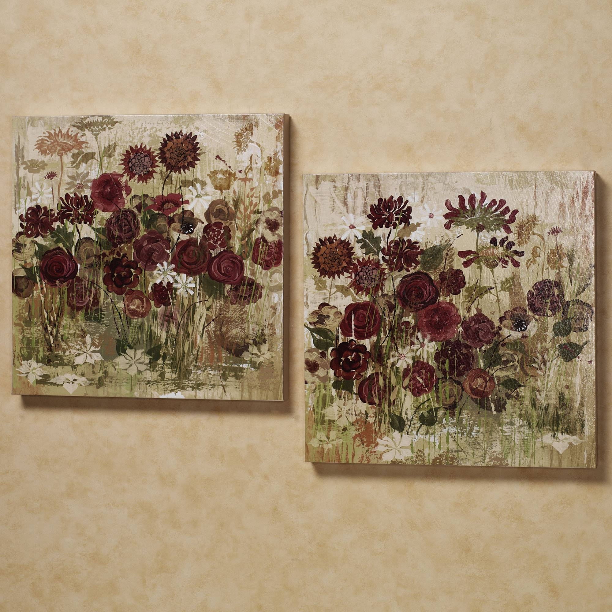 Wall Decor: Burgundy Wall Art Images (View 15 of 15)