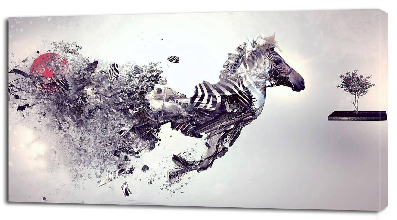 Wall Decor Canvas Prints With Unique 33 Animal Print Wall Art With Most Recently Released Zebra Wall Art Canvas (View 21 of 25)