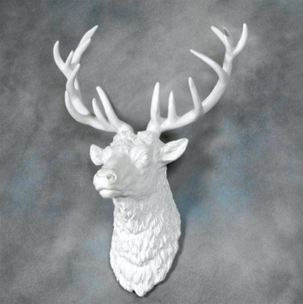 Wall Decor: Chic Stag Head Wall Decor For Home Design (View 12 of 25)