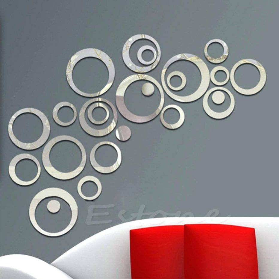 Wall Decor : Decorative Wall Mirrors Art Galleries In Wall Mirror Inside Latest Mirror Circles Wall Art (View 5 of 20)