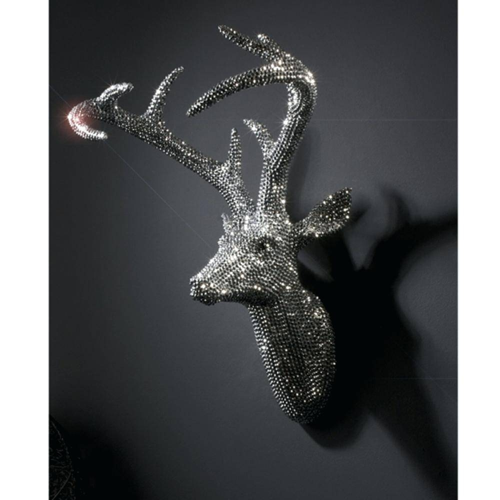 Wall Decor : Deer Head Wall Art Australia Awesome Gray Wall Decor Intended For Most Up To Date Stag Wall Art (View 18 of 20)