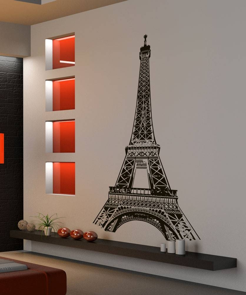 Wall Decor Detail Php Project For Awesome Eiffel Tower Wall Decal For Most Up To Date Eiffel Tower Wall Hanging Art (View 15 of 20)