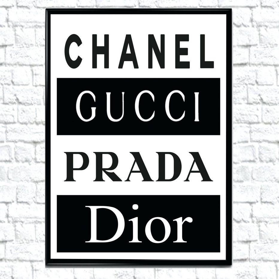 Wall Decor : Diy Chanel Wall Decor Instagramprincessablonde Modern Regarding Best And Newest Chanel Wall Decor (View 4 of 25)
