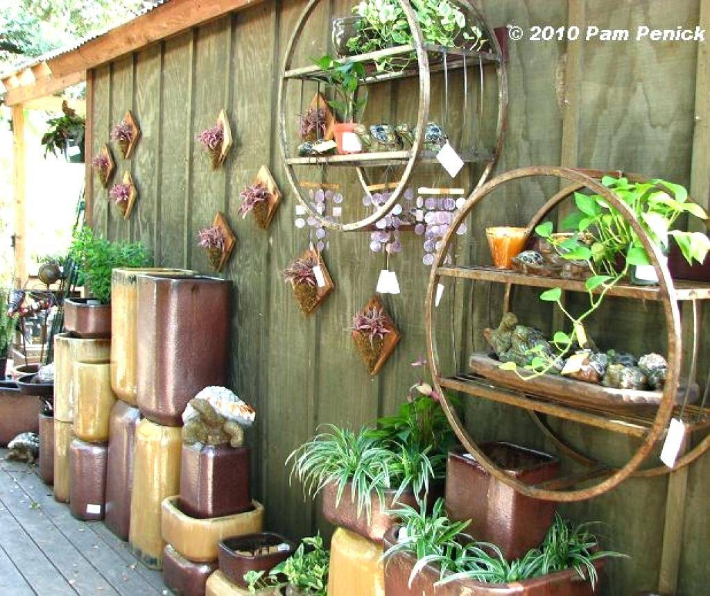 Wall Decor : Enchanting Garden Wall Decoration Ideas Garden Wall In Most Popular Outside Wall Art (View 26 of 31)