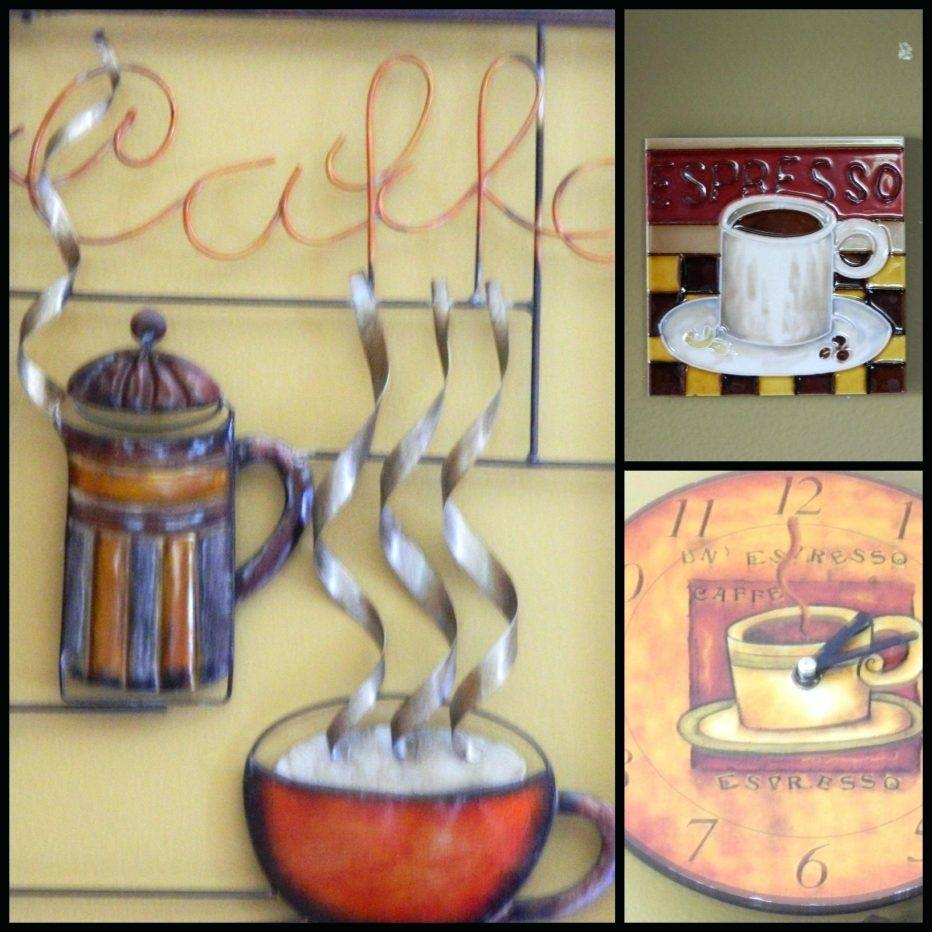 Wall Decor: Ergonomic Cafe Latte Wall Decor Inspirations. Wall Inside Most Recent Cafe Latte Kitchen Wall Art (Gallery 16 of 30)
