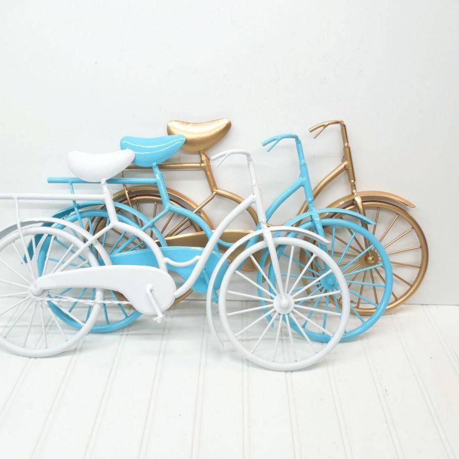 Wall Decor: Fascinating Metal Bicycle Wall Decor Design (View 14 of 20)