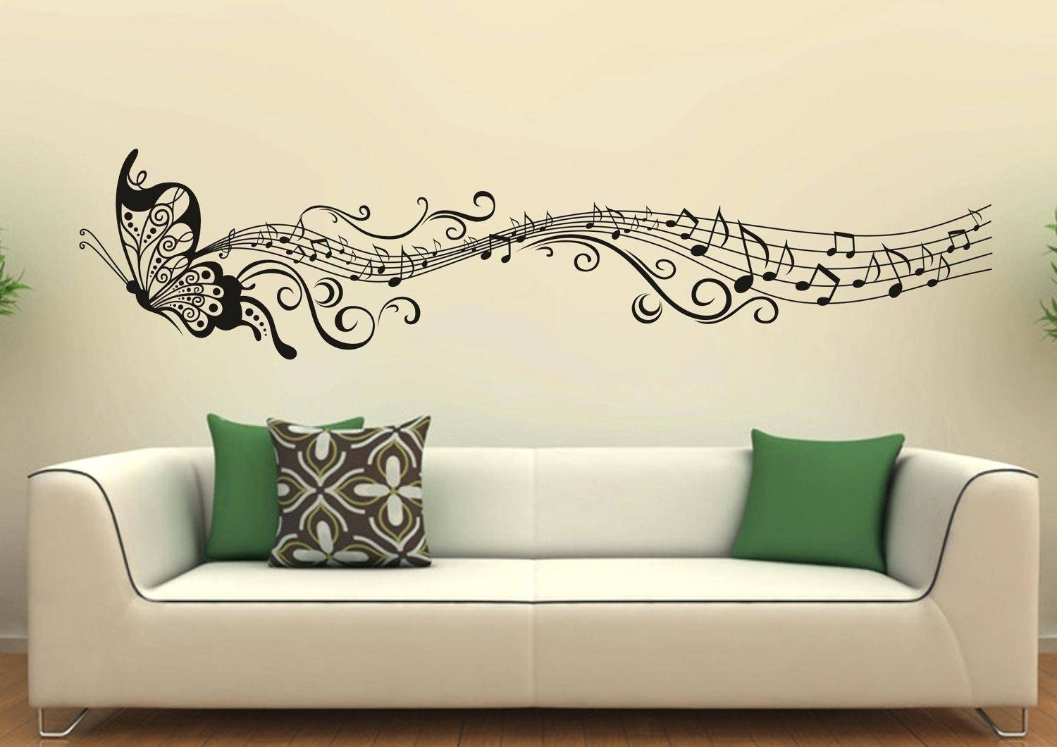 Wall Decor: Fascinating Music Themed Wall Decor Design (View 11 of 25)