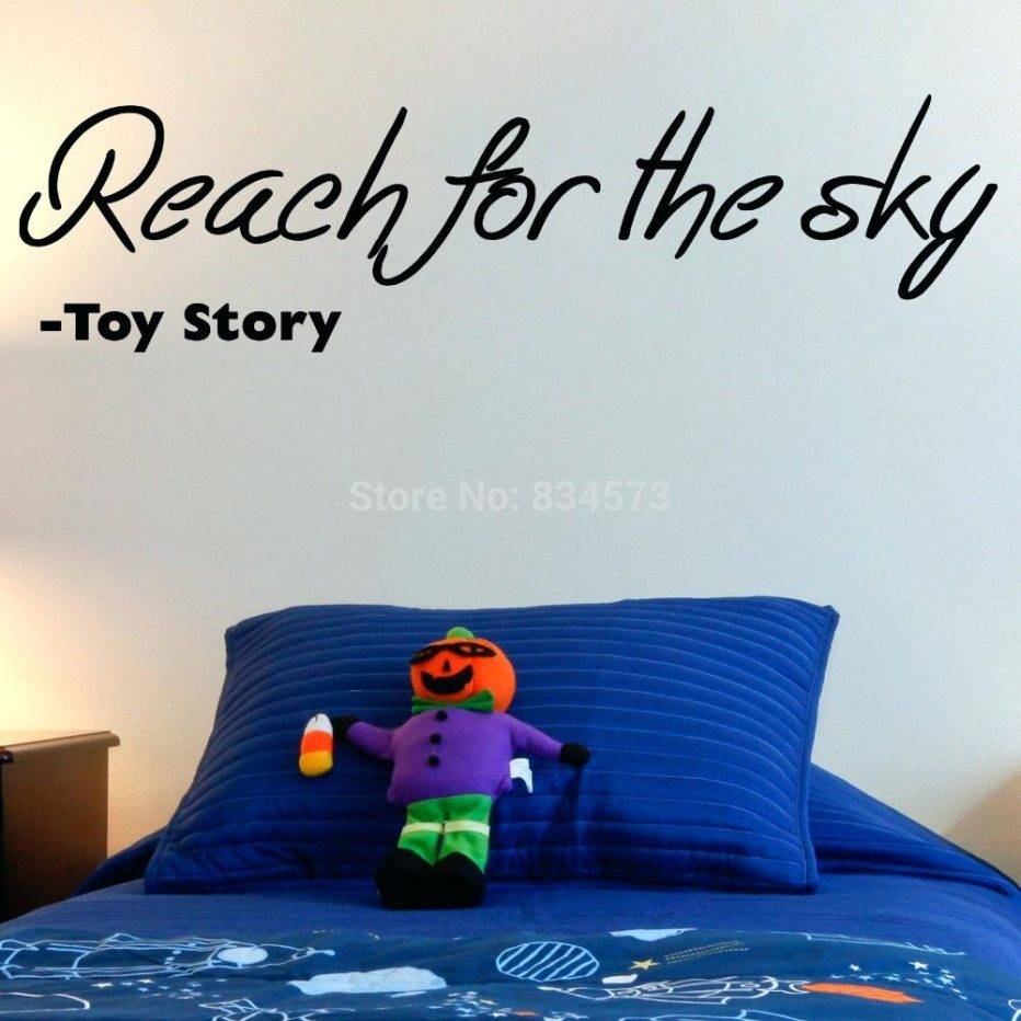 Wall Decor: Fascinating Toy Story Wall Decor Inspirations (View 12 of 30)