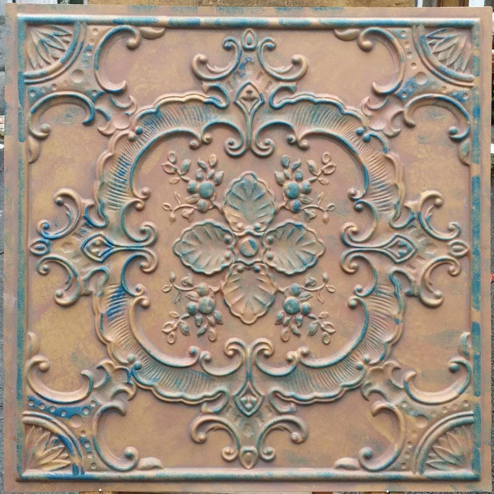 Wall Decor : Faux Wrought Iron Wall Art Floral Tropical Carved With Regard To Best And Newest Faux Wrought Iron Wall Art (View 9 of 30)