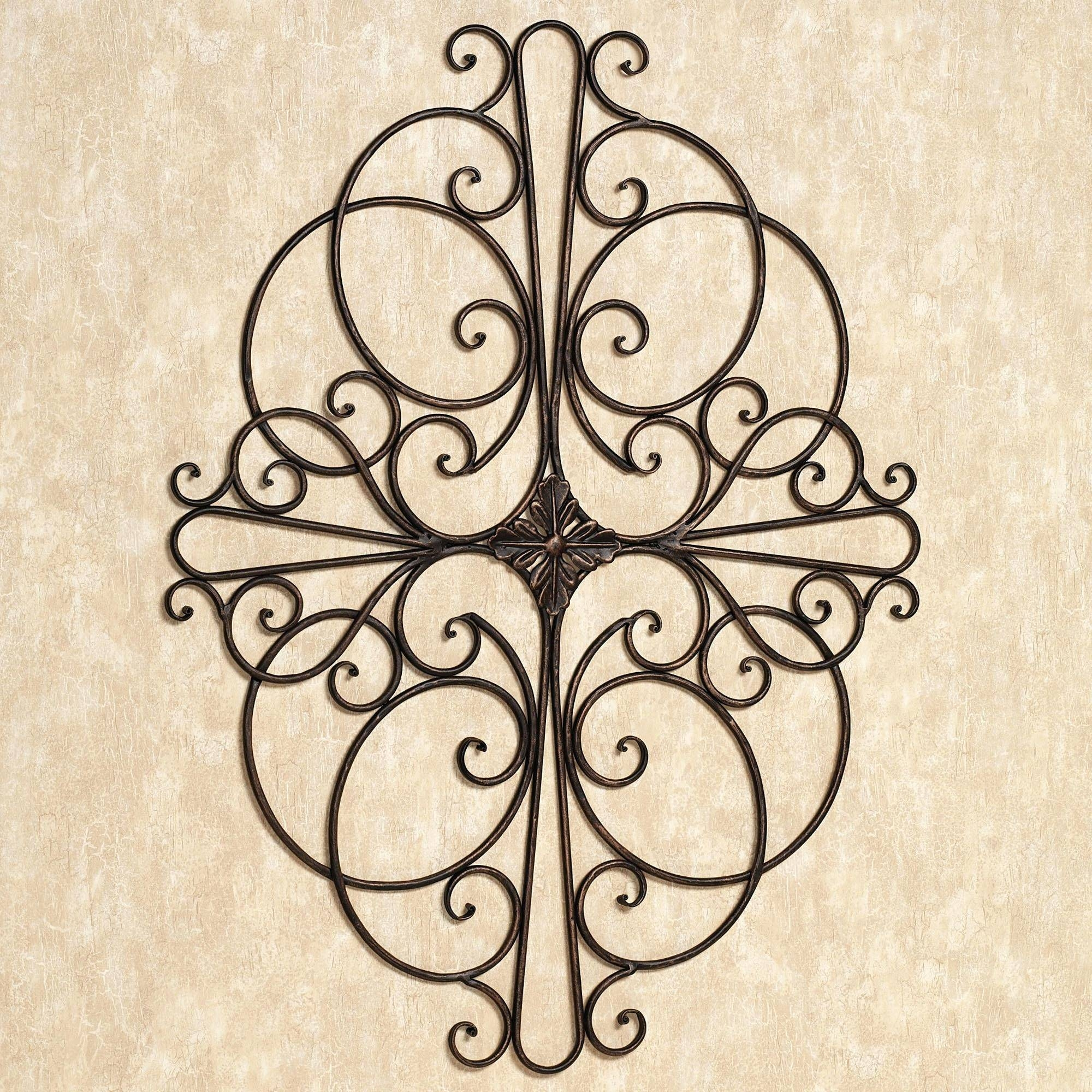 Wall Decor : Faux Wrought Iron Wall Decor 98 These Would Be Cute Within Most Current Faux Wrought Iron Wall Art (View 27 of 30)