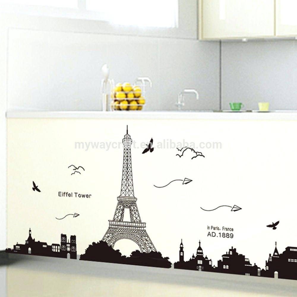 Wall Decor: Gorgeous Eiffel Tower Wall Decor For Your House (View 19 of 20)
