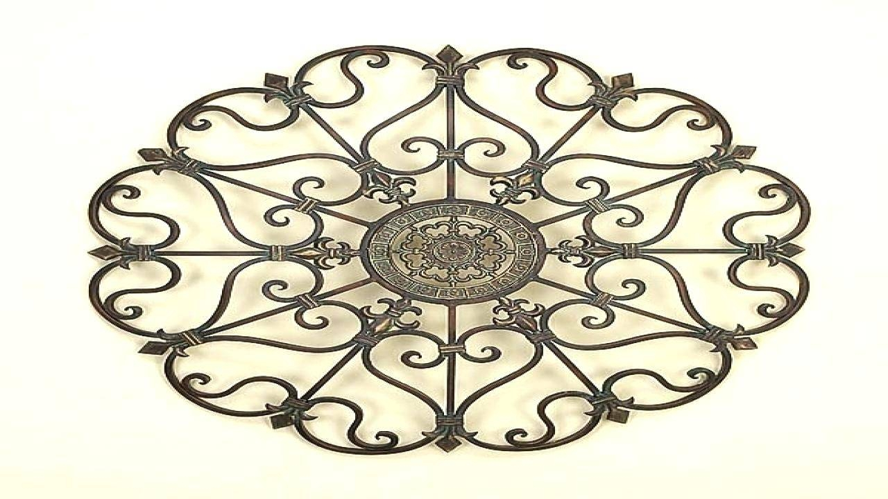 Wall Decor: Gorgeous Wrought Iron Gate Wall Decor For Inspirations Throughout 2018 Iron Gate Wall Art (View 21 of 25)