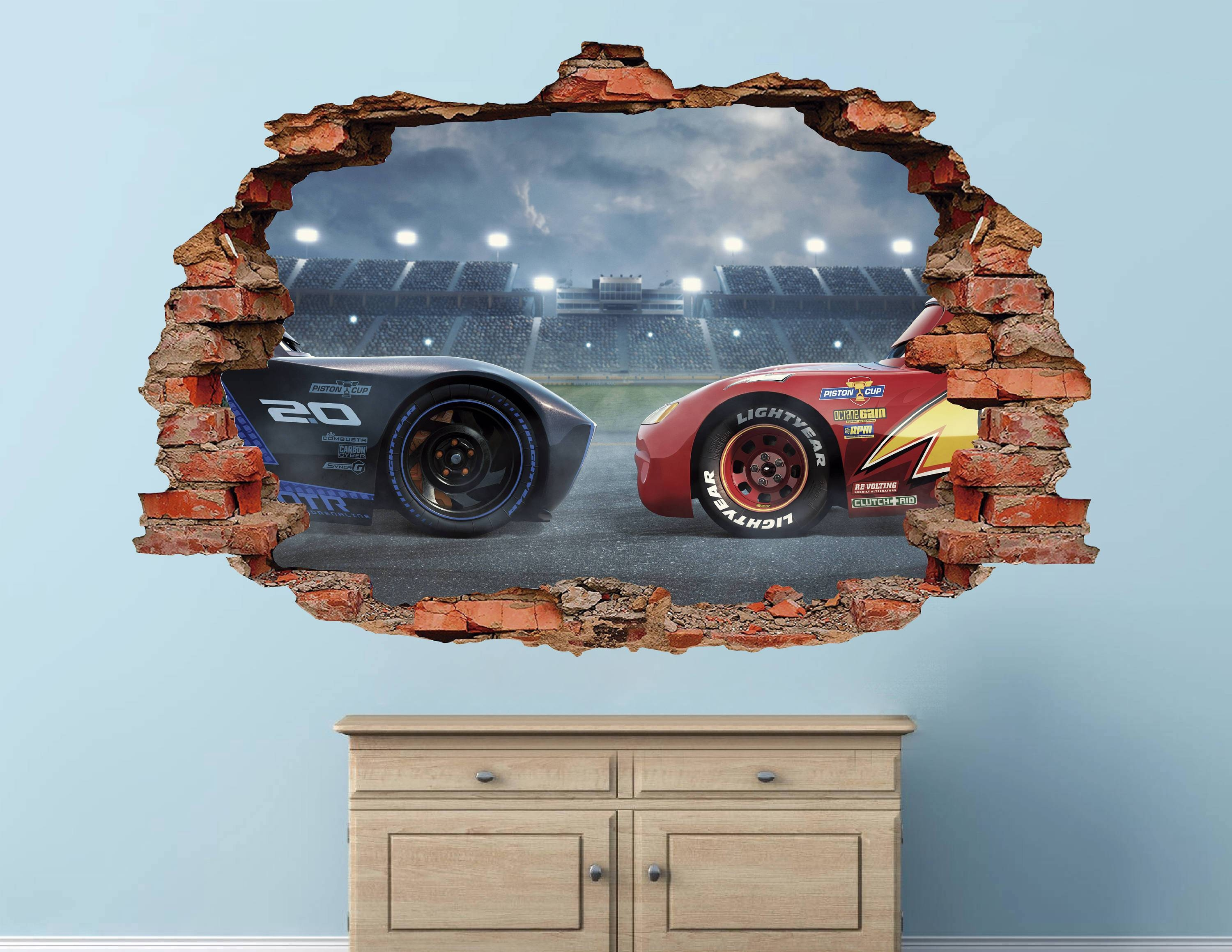 Wall Décor , Home Décor , Home & Living In Latest Lightning Mcqueen Wall Art (View 20 of 20)