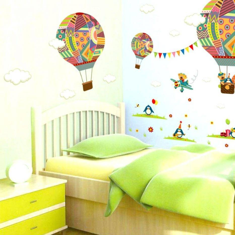 Wall Decor : Hot Air Balloon Wall Decor 104 Ergonomic Birds And Throughout Most Popular 3d Clouds Out Of Paper Wall Art (View 17 of 25)