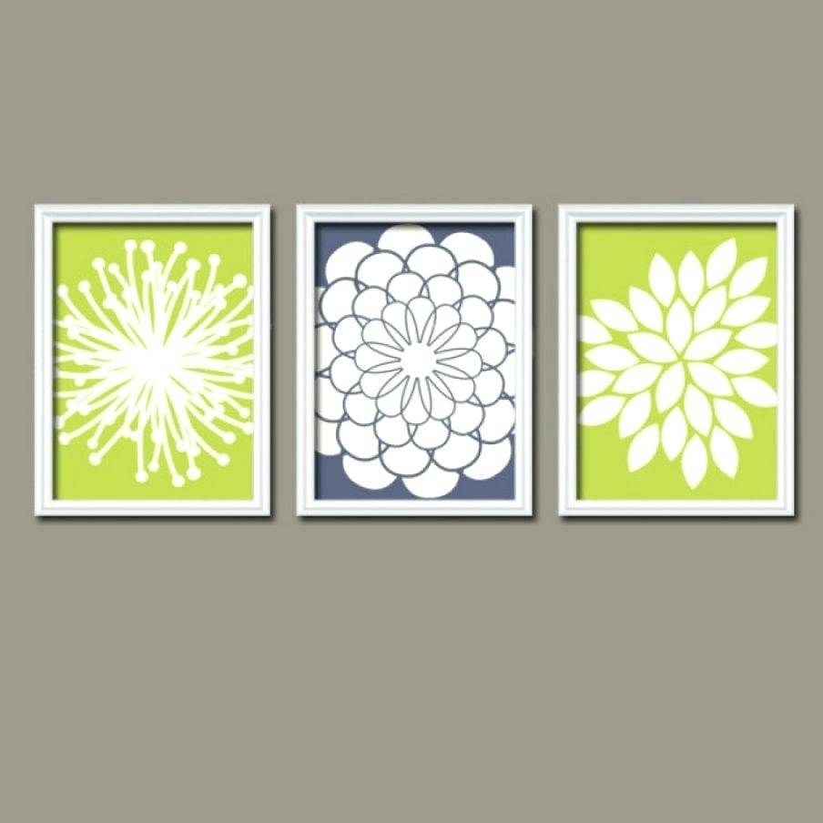 Wall Decor : Lime Green Modern Metal Wall Decor Wonderful Lime Intended For Best And Newest Lime Green Wall Art (View 19 of 20)