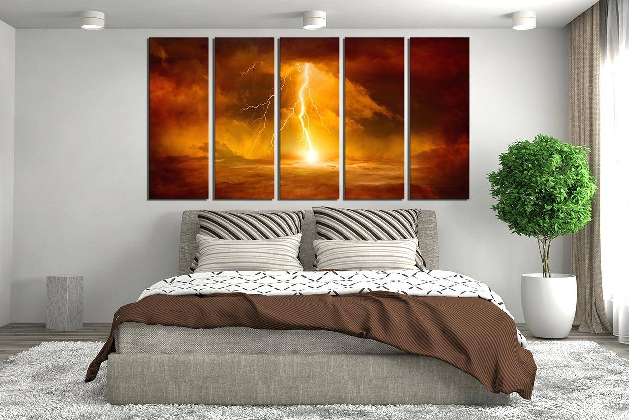 Wall Decor : Mesmerizing Home Decor 3 Piece Wall Art Forest Multi Pertaining To Most Up To Date Multiple Piece Wall Art (View 13 of 20)