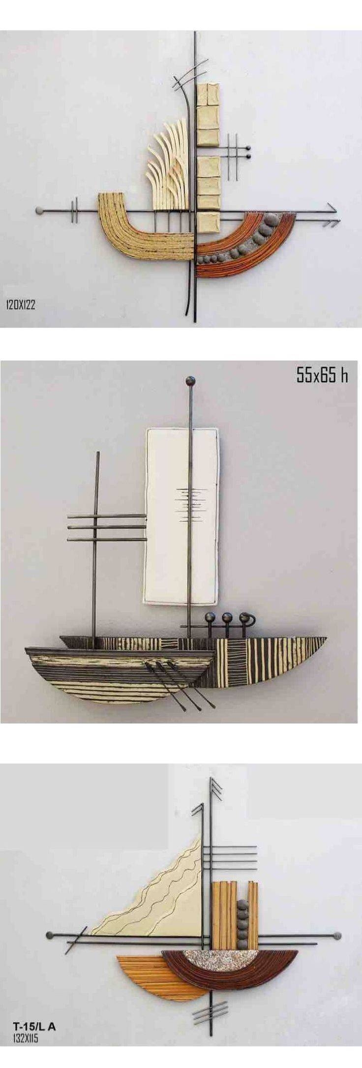 Wall Decor: Metal Sailboat Wall Art Design (View 8 of 30)
