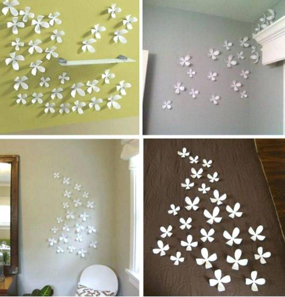 Wall Decor : Modern 3D Flower Wall Decor Wall Art Design Wall For Recent 3D Modern Wall Art (View 18 of 20)