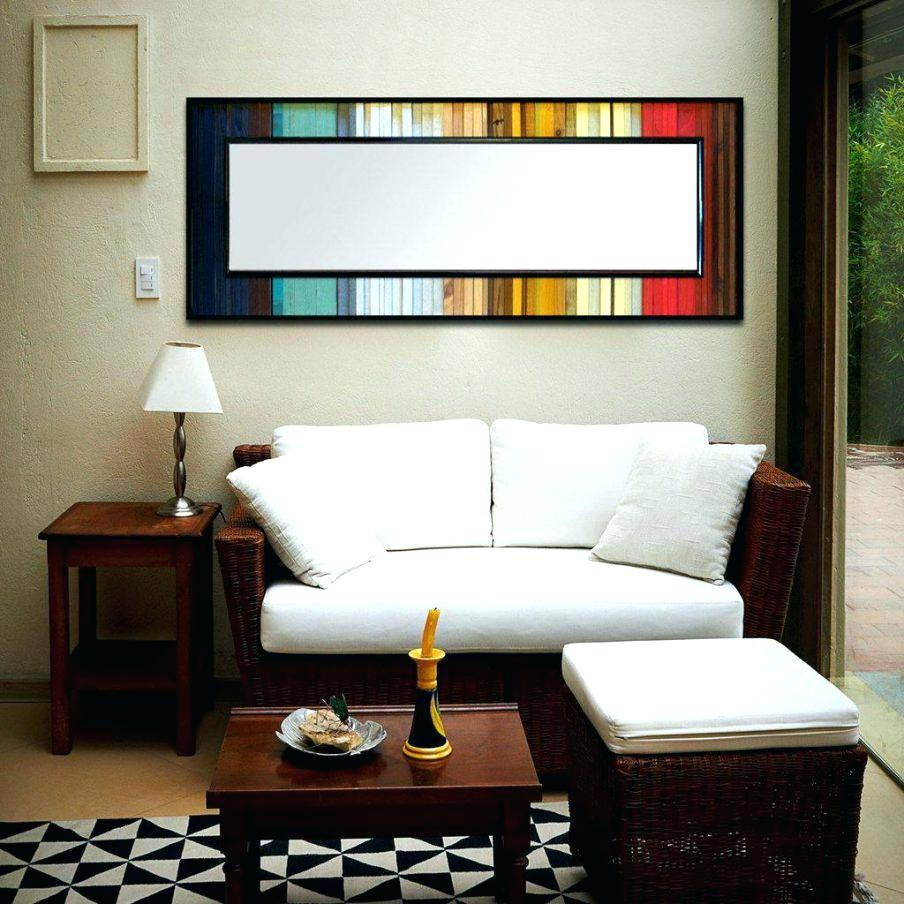 Wall Decor : Modern Triangle Art Geometric Steel Metal Wall 3d With Best And Newest Large Horizontal Wall Art (View 13 of 20)