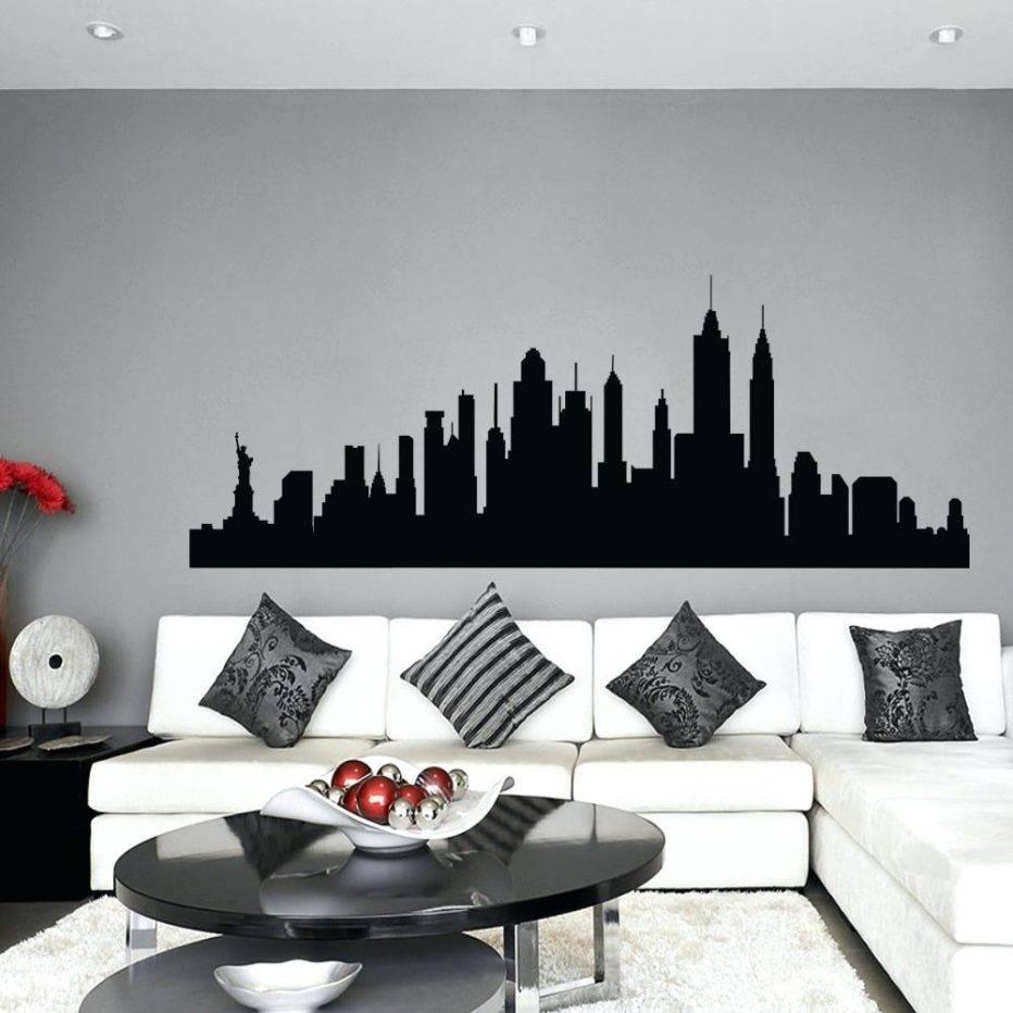 Wall Decor : New York Print Brooklyn Bridge Skyline Wall Art With 2017 New York 3d Wall Art (View 9 of 20)