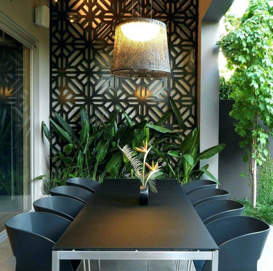 Wall Decor : Outdoor Metal Star Wall Decor Innovative Outdoor Wall Pertaining To Most Recent Large Metal Wall Art For Outdoor (View 15 of 20)