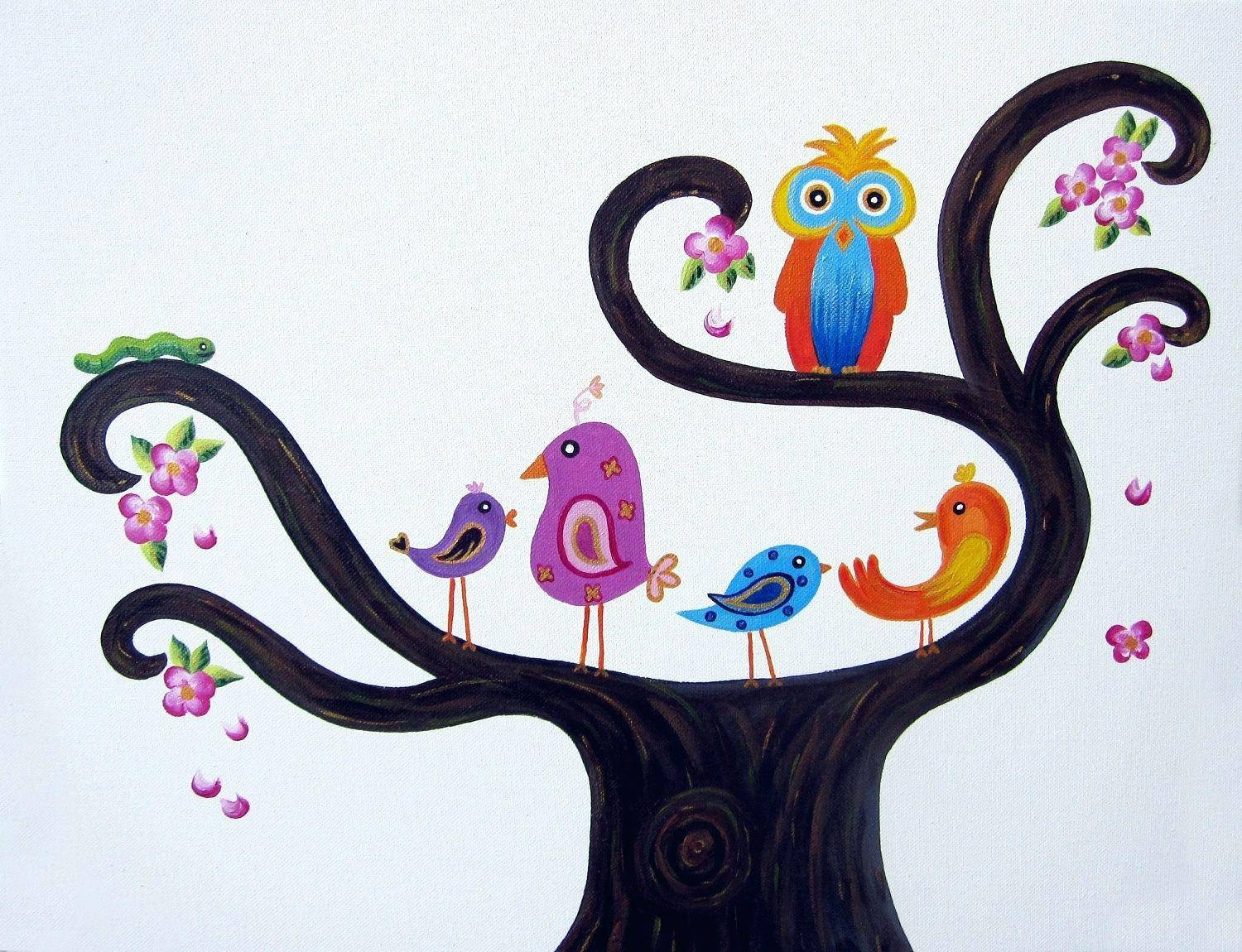Wall Decor : Outdoor Wall Decor Birds 3D Wall Art Birds 3D Il Intended For Current Baby Nursery 3D Wall Art (View 19 of 20)