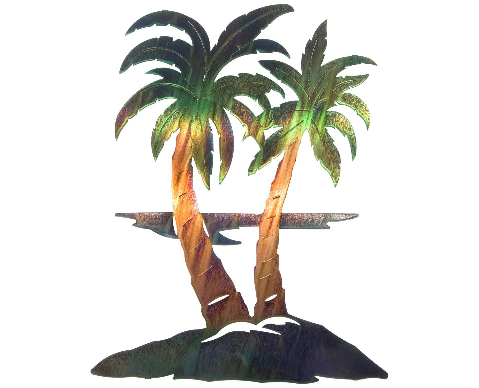 Wall Decor: Palm Tree Wall Art Photo (View 4 of 25)