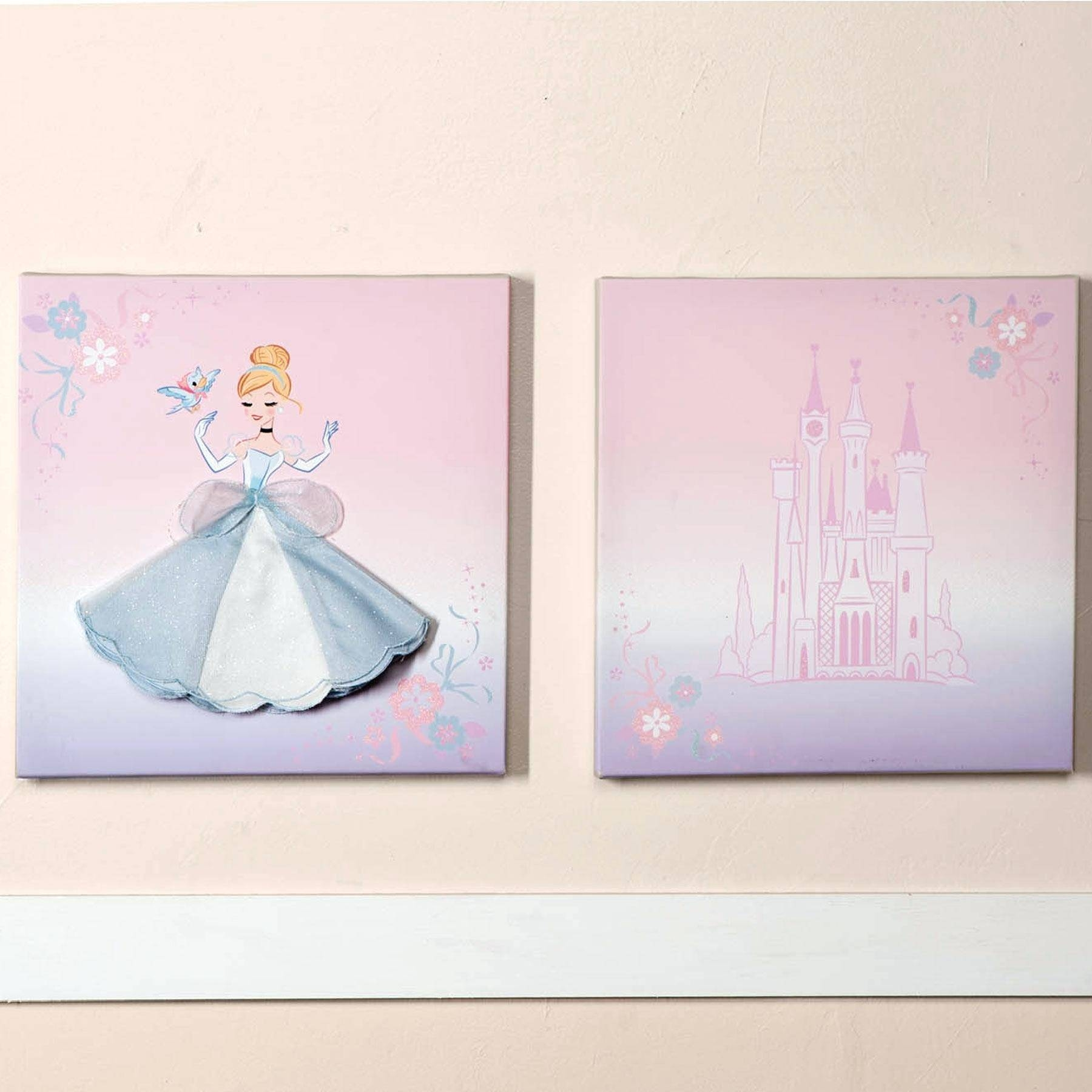 Wall Decor : Removable Princess Wall Stickers For Nursery Room Regarding Most Up To Date Beetling Design Crown 3d Wall Art (View 16 of 20)