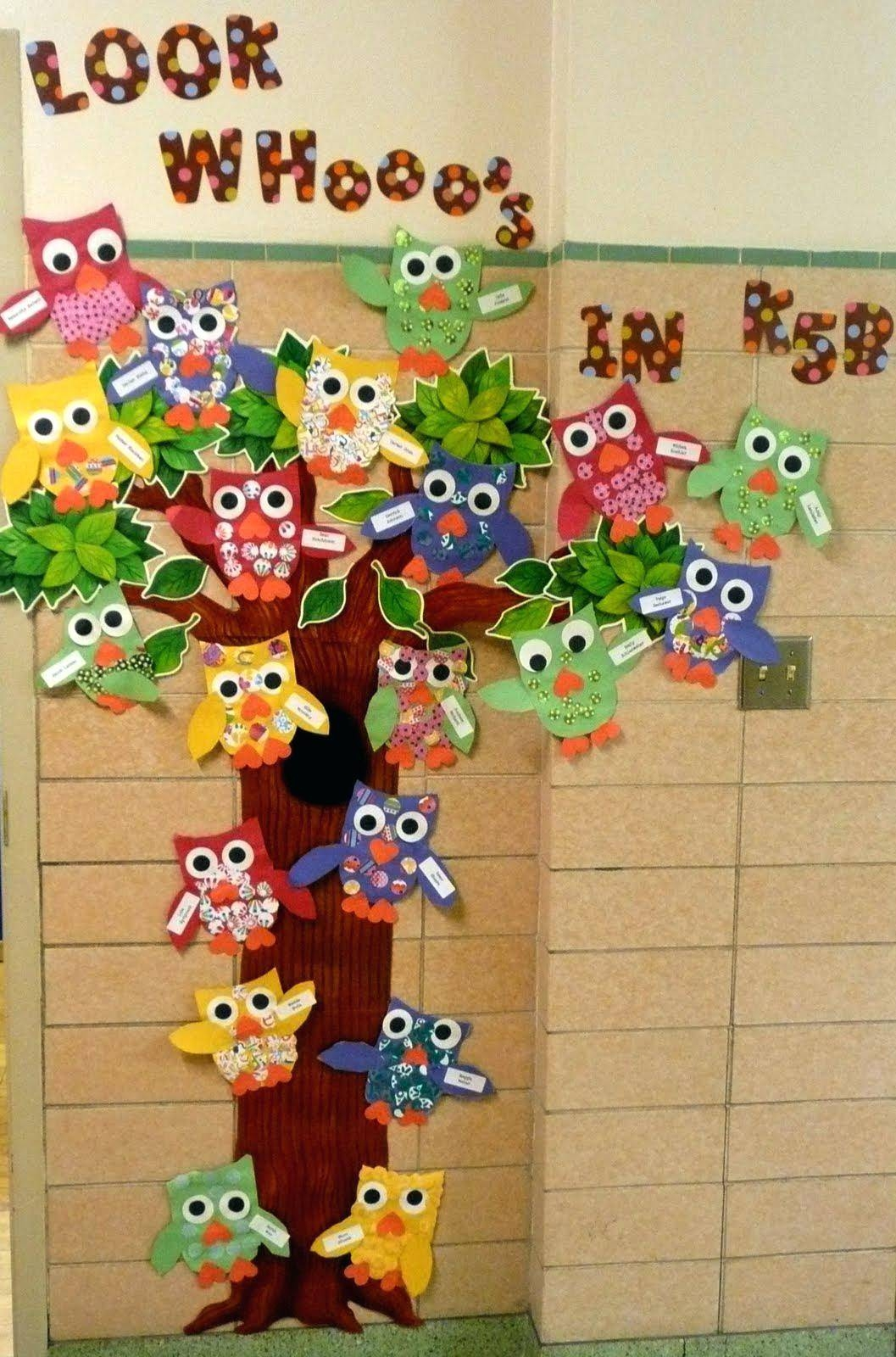Preschool Classroom Wall Design ~ Best of preschool wall decoration