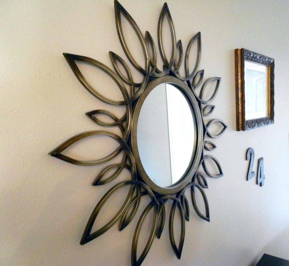 Wall Decor : Stupendous Amazing Round Metal Wall Art Wall Art With 2017 Small Round Mirrors Wall Art (View 13 of 20)