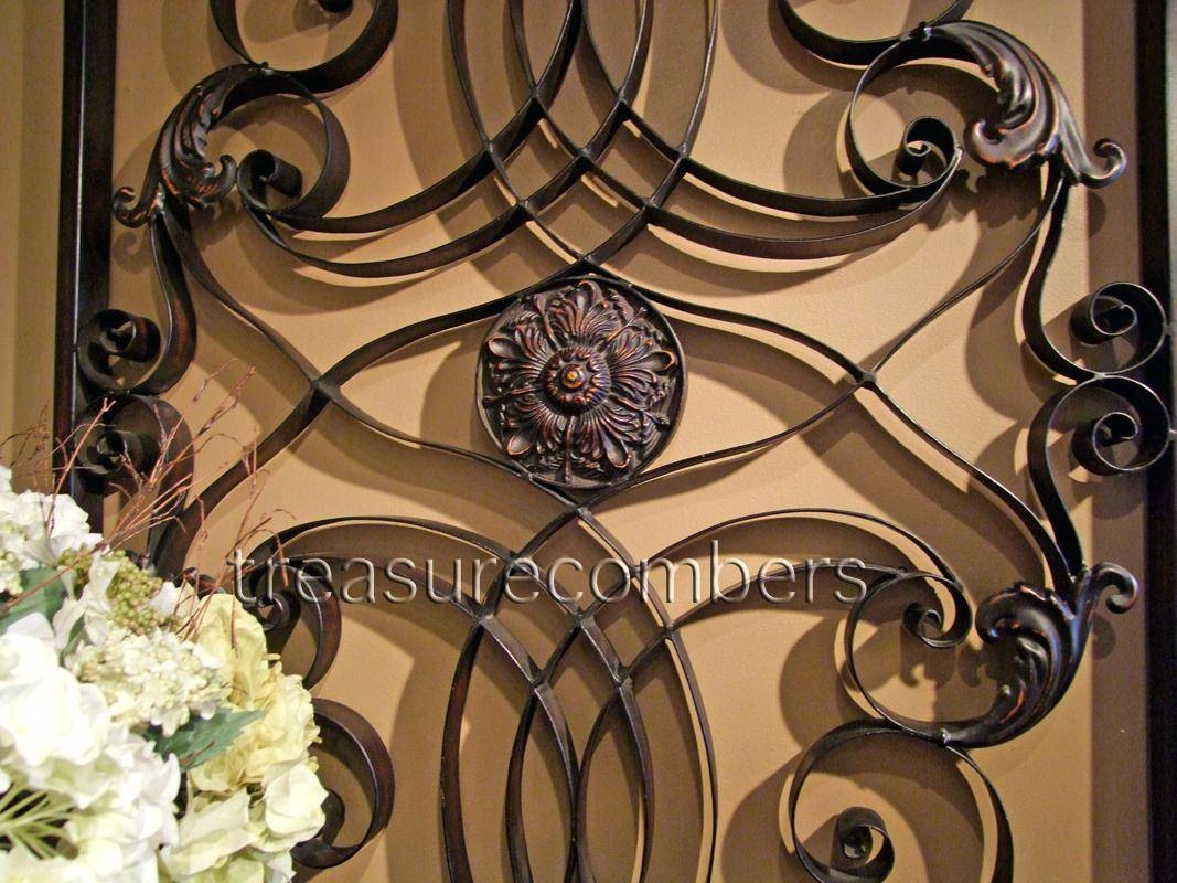 Wall Decor : Superb Tuscan Style Dining Room Ideas Wall Decoration With Regard To Most Current Italian Metal Wall Art (View 11 of 25)