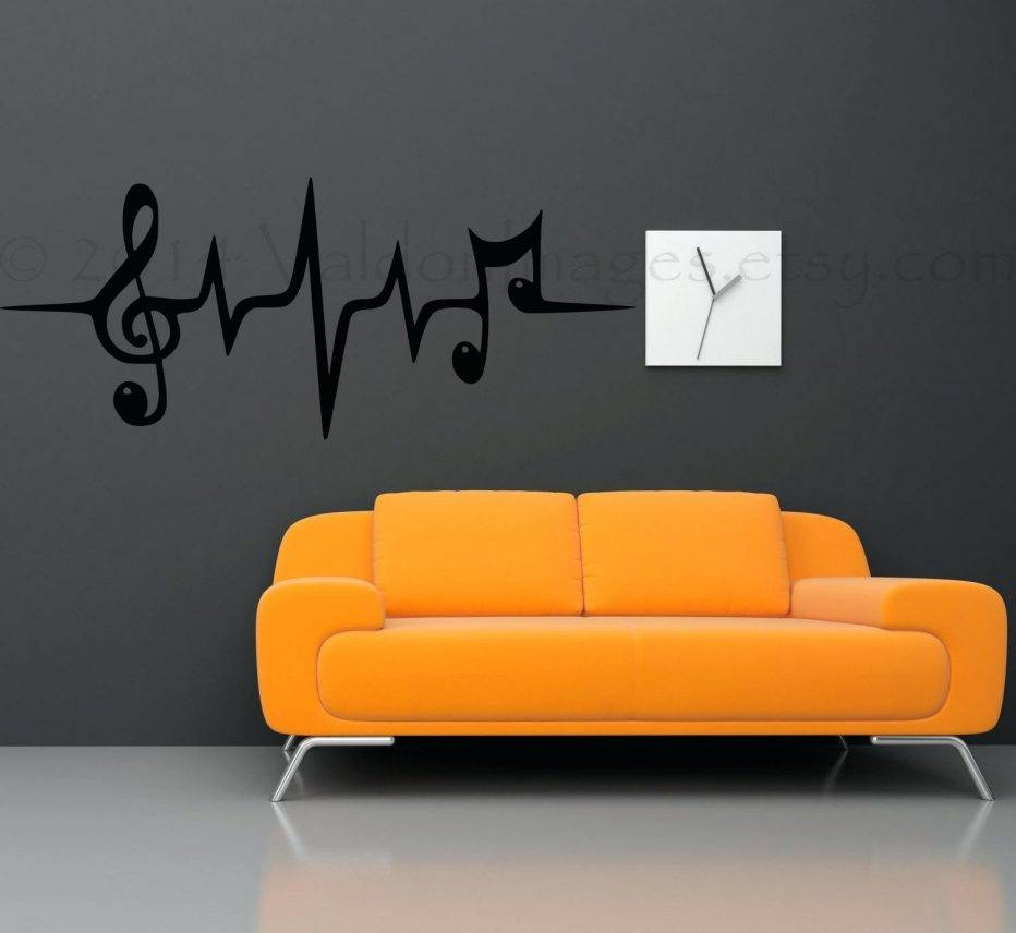 Wall Decor: Terrific Metal Music Notes Wall Decor For Inspirations Regarding Most Current Metal Music Notes Wall Art (View 15 of 20)