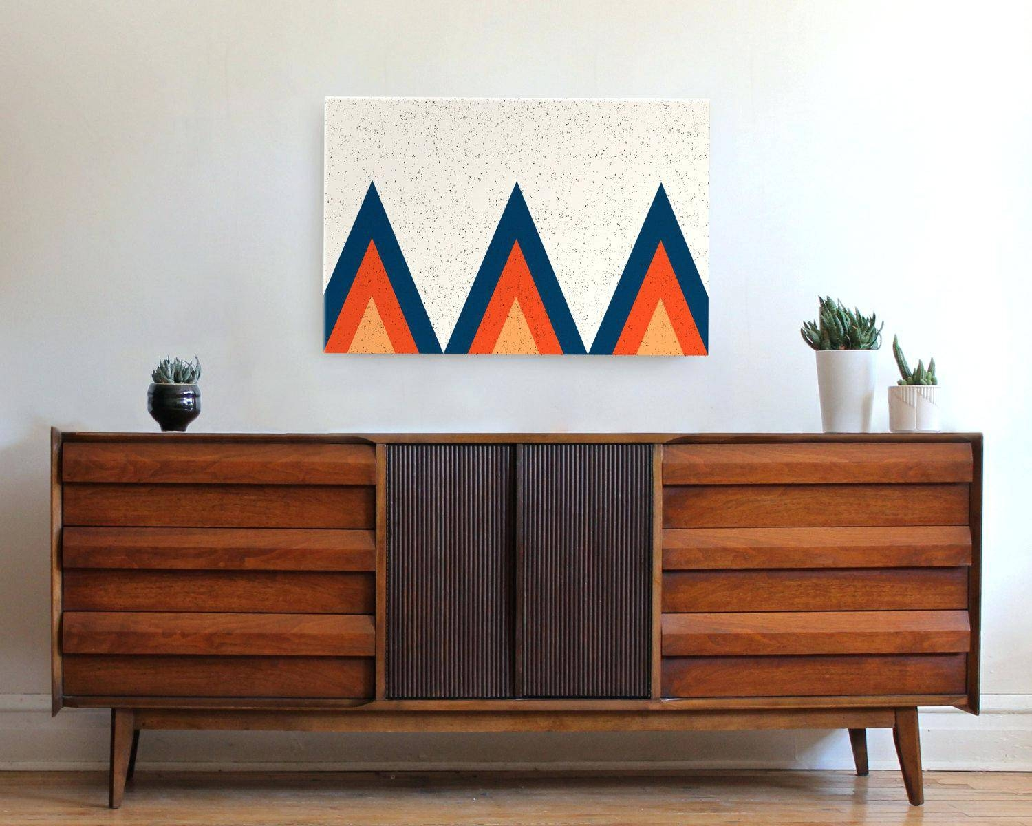 Wall Decor : Terrific Mid Century Modern Wall Art Photo Within Most Popular Modern Wall Art For Sale (View 19 of 20)