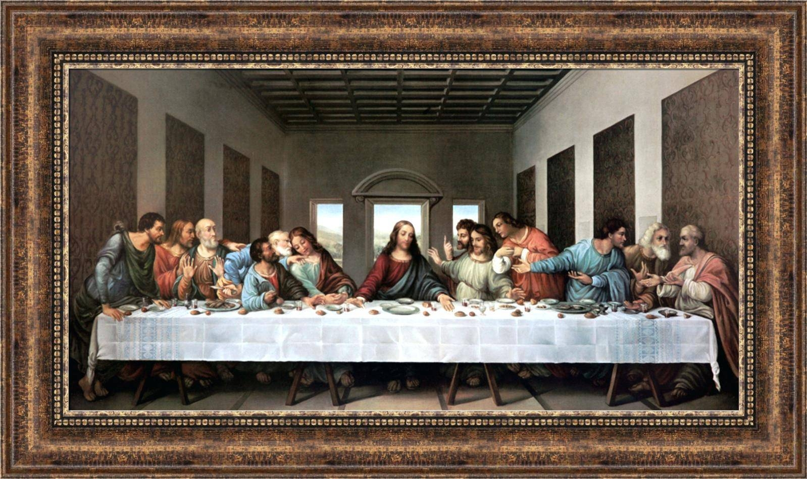 Wall Decor : The Last Supper Last Supper Scroll Christian Art Throughout Most Up To Date Last Supper Wall Art (View 18 of 20)