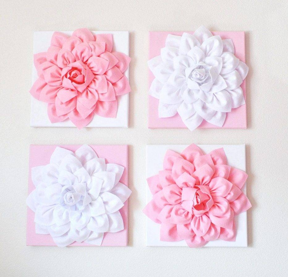 Wall Decor: Trendy Ceramic Wall Decor Flower For Inspirations Pertaining To Best And Newest Ceramic Flower Wall Art (View 6 of 30)
