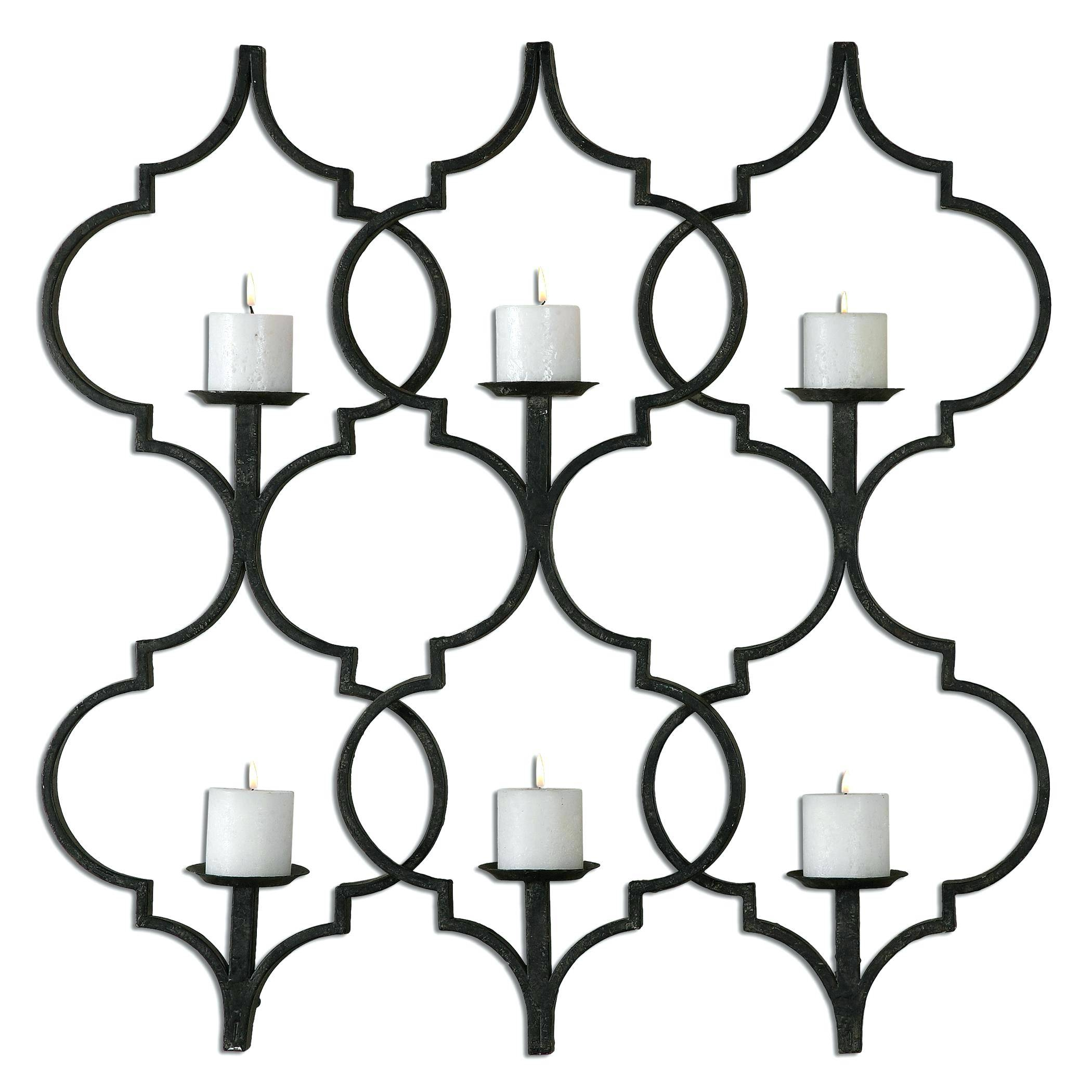 Wall Decor : Uttermost Juliana Metal Wall Art Sconce Wall Room 103 Throughout 2018 Uttermost Metal Wall Art (View 11 of 20)