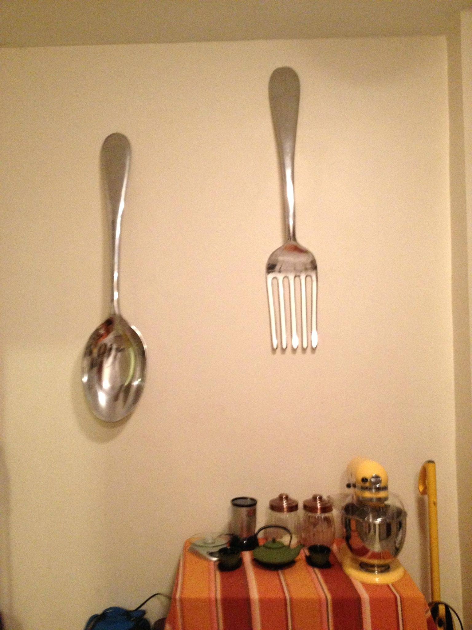 Photo Gallery of Giant Fork And Spoon Wall Art (Showing 24 of 25 Photos)