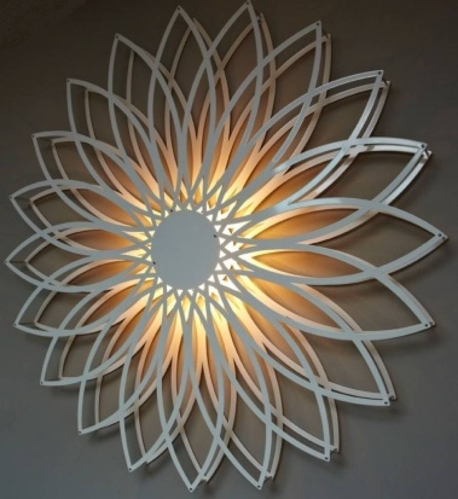 Wall Decor: Wall Art Lighting Inspirations (View 18 of 20)