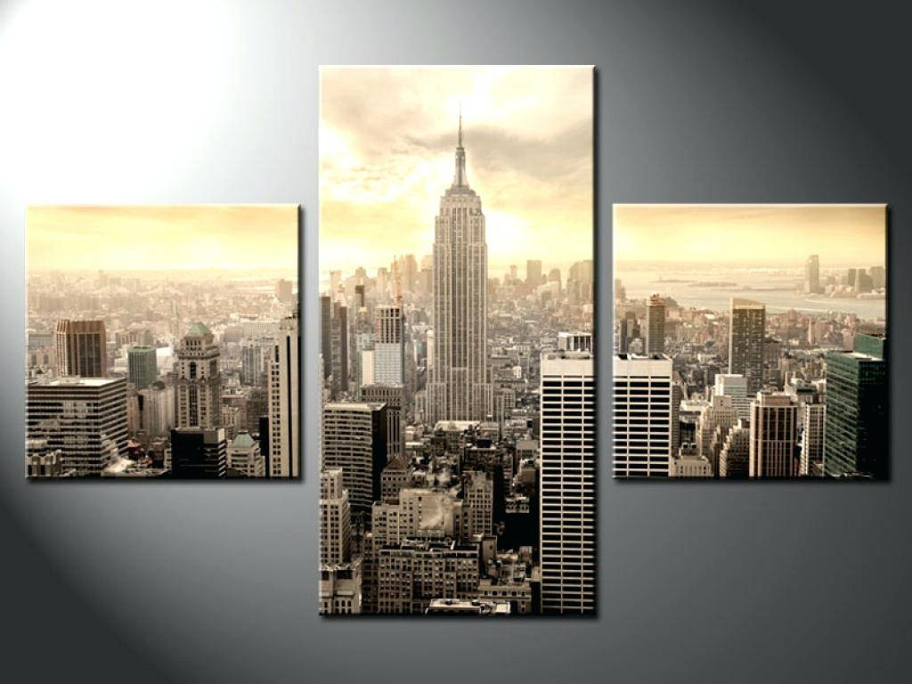 Wall Decor : Wall Decor Canvas Prints New York Cityscape Canvas With 2017 New York City Canvas Wall Art (View 3 of 20)