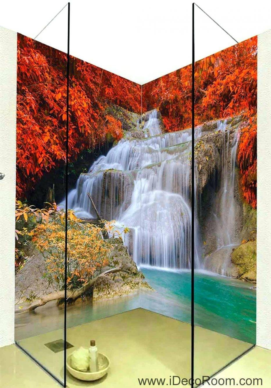 Wall Decor : Wall Decorating Home Decor 2 Piece Wall Art Waterfall Pertaining To Best And Newest Waterfall Wall Art (View 8 of 20)