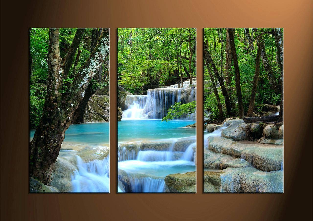 Top 25 of multiple piece canvas wall art for Wall artwork paintings