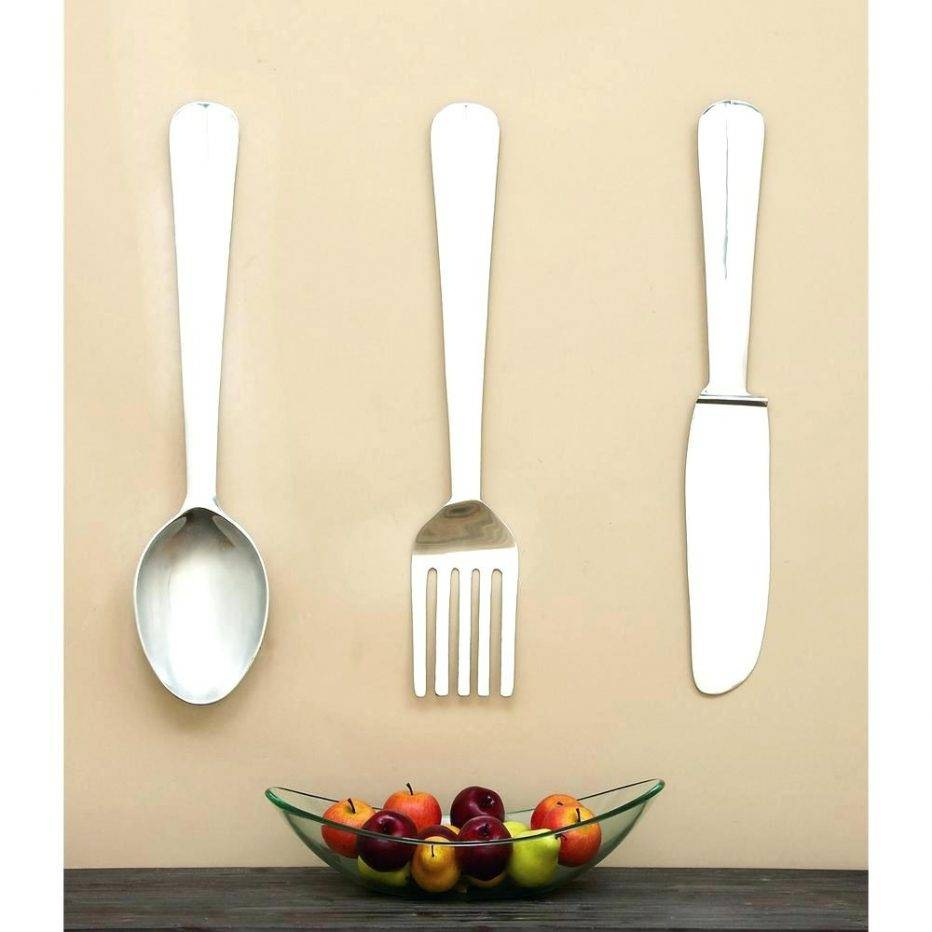 Wall Decor : Wall Interior Kitchen Utensils Wall Art Kitchen Intended For Best And Newest Large Utensil Wall Art (View 5 of 20)