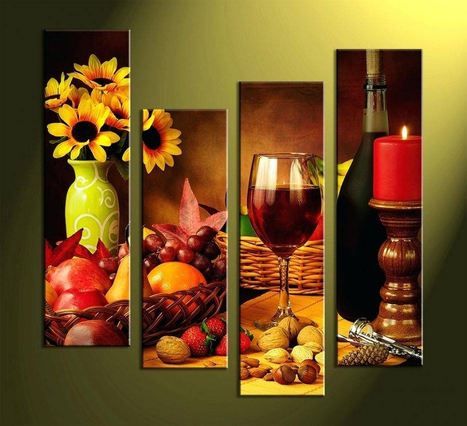 Wall Decor : Wine Themed Wall Decor 102 Fascinating Wine And Grape Inside Most Current Wine Theme Wall Art (Gallery 14 of 20)