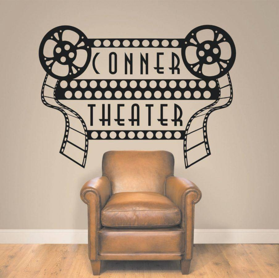 Wall Decor: Winsome Home Theatre Wall Decor Ideas (View 1 of 30)