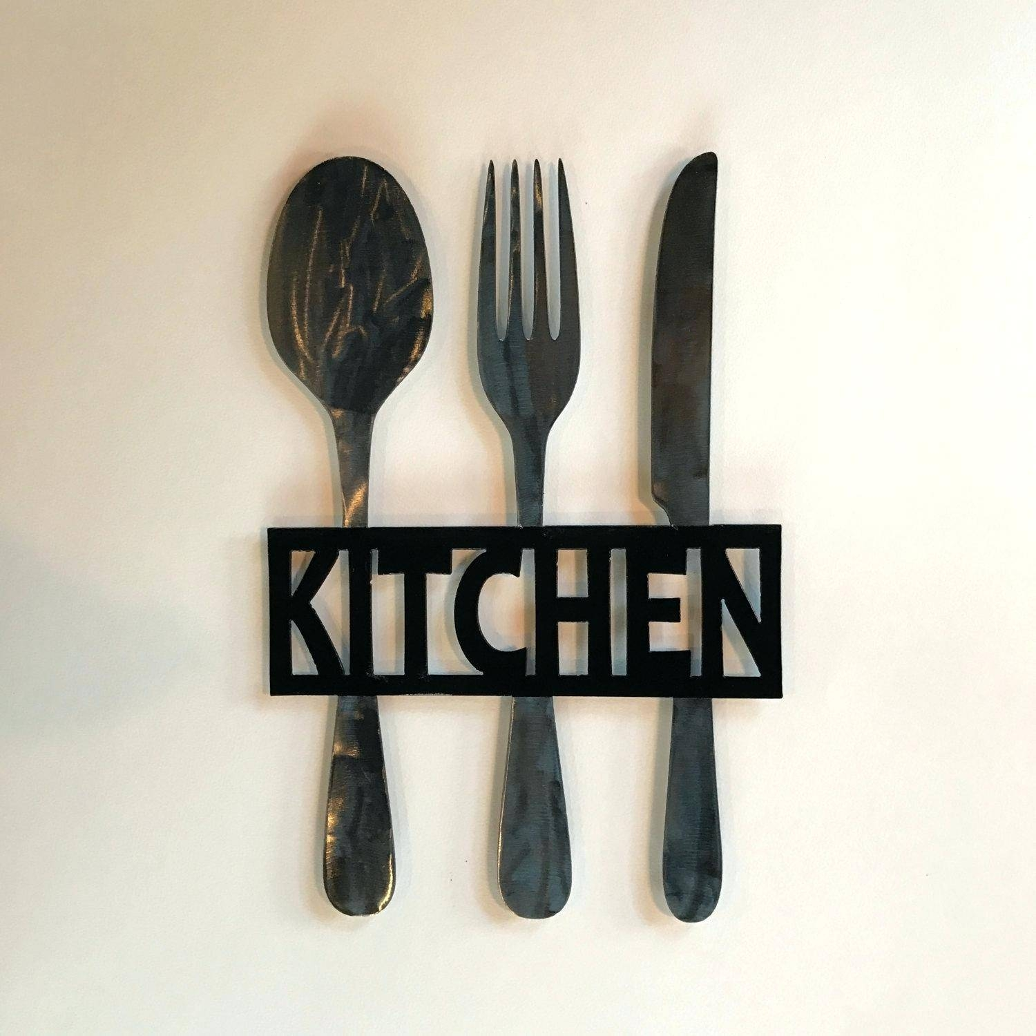 30 Ideas Of Spoon And Fork Wall Decor